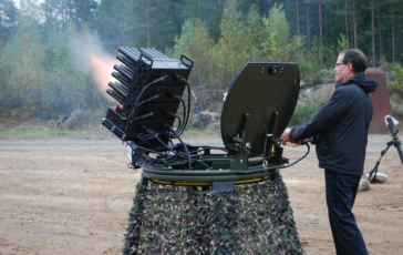 Demonstration at SAAB Bofors