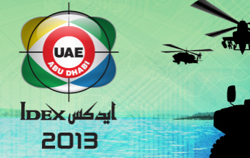 IDEX exhibition in Abu Dhabi
