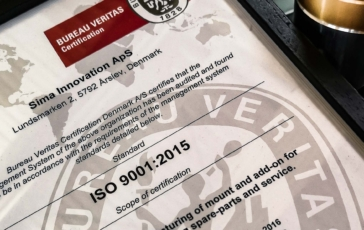 SIMA RE-CERTIFIED ISO 9001: 2015!